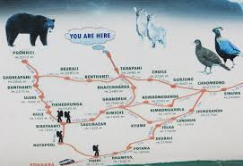 Himalayas On World Map by Nepal Trek In The Annapurna Himalayan Range Part 2 Of 2 Ron