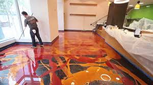 flooring awesomec epoxy floors pictures concept learn to install