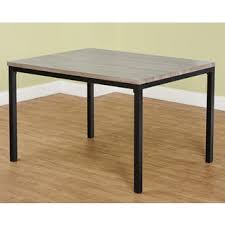 simple living seneca contemporary dining table free shipping