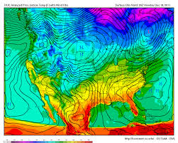 Cold Front Map Looking Aloft A Quick Note On The Southern Plains Blizzard