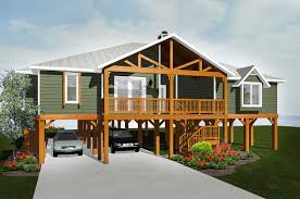 plan 3481vl elevated living a well house plans and cars