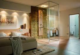 dans chambre salle de bain cabine verre simpose dans chambre à coucher