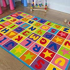 Baby Area Rug Amazon Com Pr U0027s Kids Baby Room Area Rug Letters And Numbers