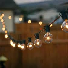 Light Bulb String Outdoor Large Bulb Outdoor String Lights Outdoor Lighting