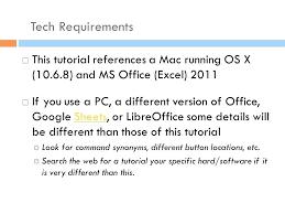 tutorial excel libreoffice excel 2011 tutorial excel tutorial formulas and functions in table