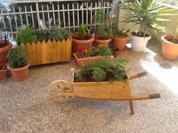 large wooden corner planters margarite gardens