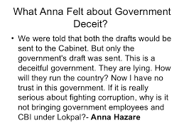 Facts About The Cabinet Anna Hazare The Phenomena