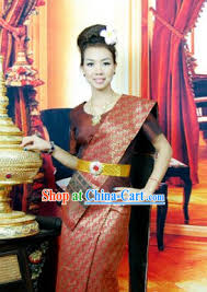 thailand clothing traditional thai style dresses thailand national