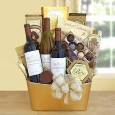 what to put in a wine basket chocolate and wine gift basket i like this combination gift