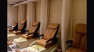 pedicure chairs with privacy curtains eye masks and neck pillows