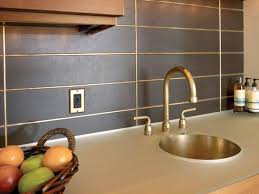 exciting grey black colors metal tile kitchen backsplash come with