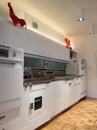 Crosley Steel Kitchen Cabinets by The Ge Wonder Kitchen Introduced In 1955 Kitchens Condos And