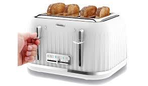 Asda Kettle And Toaster Sets Breville Impressions Vtt470 4 Slice Toaster Home U0026 Garden