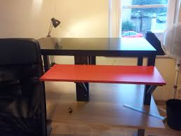 Convert Sitting Desk To Standing Desk by Standing Desk Conversion Ikea Decorative Desk Decoration