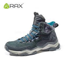 rax mens waterproof hiking shoes genuine leather mountain hiking