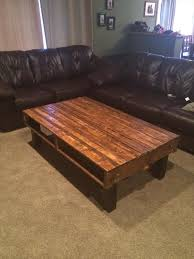 How To Build A Coffee Table Out Of Pallet Wood Coffee Addicts - Simple coffee table designs