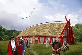 what colour did the vikings paint their houses sciencenordic