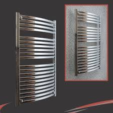 Small Heated Towel Rails For Bathrooms Lioni Stainless Steel Heated Towel Rail Designer Bathroom Modern
