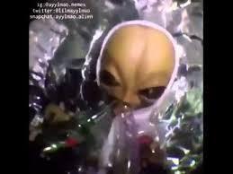 Stoned Alien Meme - ufo flying over los angeles alien turn up vine youtube