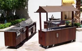 portable outdoor kitchen island mobile service carts modular commercial outdoor portable bars