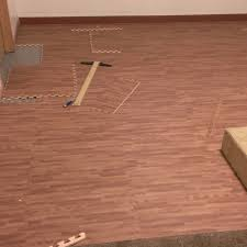 Laminate Or Tile Flooring Premium Soft Wood Tiles Interlocking Foam Mats