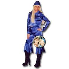 waterloo abba blue make believe costume hire