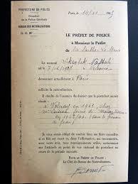 bureau des naturalisations skrobek naftali préfet de les déportés juifs de la sarthe