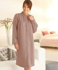 robe de chambre polaire robe de chambre en molleton polaire 105 cm vison femme damart
