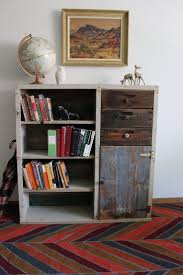 best 25 reclaimed wood bookcase ideas on pinterest bookshelf