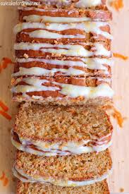 eat cake for dinner whole wheat carrot cake bread with cream