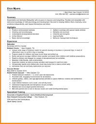 Babysitter Resume Examples by Babysitting On A Resume Resume For Your Job Application