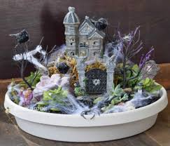 Garden Halloween Decorations Make Your Neighbors Giggle With These 9 Halloween Fairy Garden