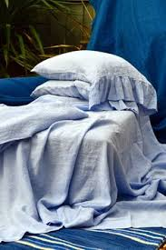 Blue Linen Bedding - linen duvet cover aquamarine linen bedding stonewashed linen
