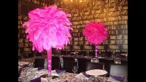 Where To Buy Ostrich Feathers For Centerpieces by Pink Fuchsia Ostrich Feather Centerpieces At Xo Creperie