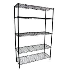 black friday no home depot ad hdx 5 shelf 36 in w x 16 in l x 72 in h storage unit 21656ps