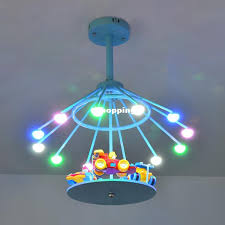 Merry Go Round Children LED Ceiling Lights Kids Room Decorate - Lights for kids room
