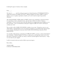 Business Letter Example by Business Letter Sample Request Images Examples Writing Letter
