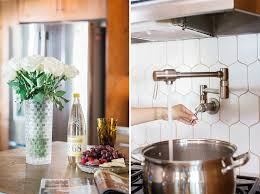 Photos Of Backsplashes In Kitchens White Kitchen Backsplash Remodel Diana Elizabeth