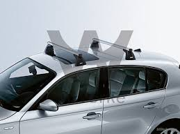 bmw 1 series roof bars bmw lockable touring roof rack