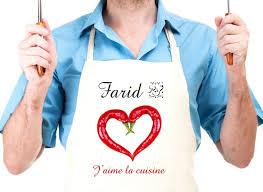 tablier de cuisine personnalisable tablier de cuisine personnalisable à votre choix pour femme ou