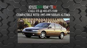 Nissan Altima 1999 - how to replace nissan altima key fob battery 1997 1998 1999 youtube