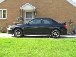 subaru wrx all black rce yellow and oem springs side by side u2013 cars natemichals com