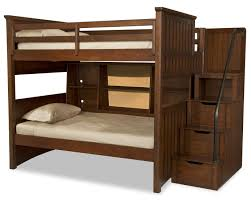 Twin Bunk Bed With Desk And Drawers Bedroom Wooden Bunk Beds With Stairs Plus Drawers And Bookcase
