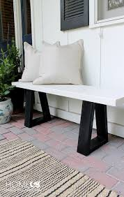 Home Benches West Elm Bench Knock Off Home Made By Carmona