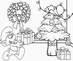 download coloring pages christmas clip art coloring pages