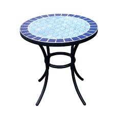 Tile Bistro Table Shop Garden Treasures Pelham Bay End Table At Lowes