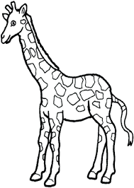 imagenes de jirafas bebes animadas para colorear pagina para colorear jirafa para dibujo para colorear jirafa efil info