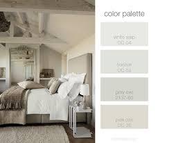 Bedroom Color Palette White Wisp OC Benjamin Moore Horizon OC - Color palette bedroom