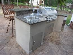 outdoor kitchen sinks ideas outdoor kitchen beautiful outdoor kitchen ideas with granite