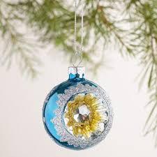 glass reflector ornaments set of 3 world market
